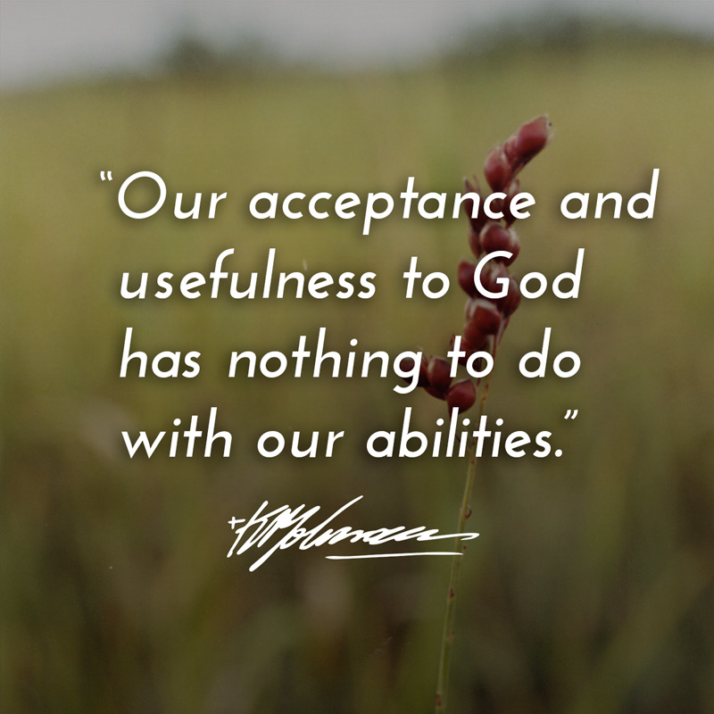 Our acceptance and usefulness - KP Yohannan - Gospel for Asia