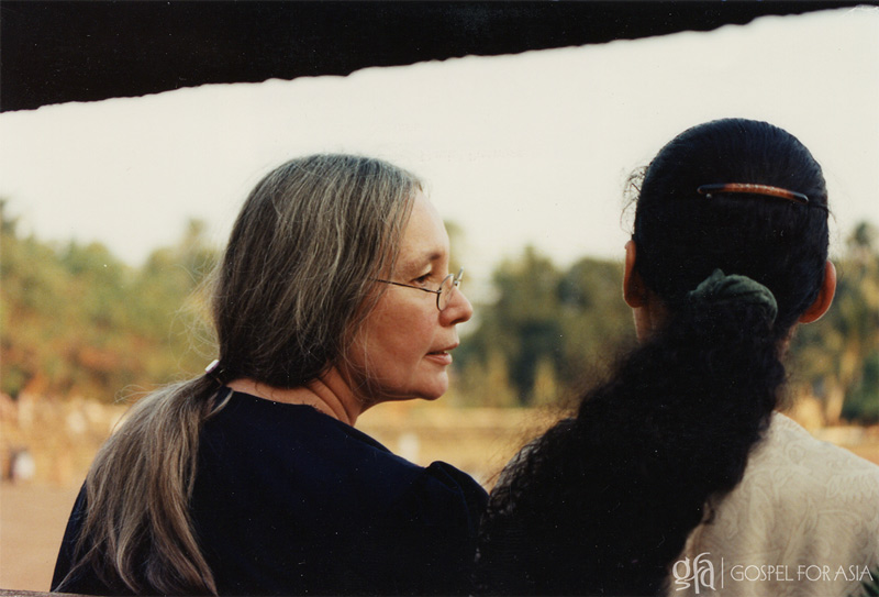 Gisela Yohannan and her daughter Sarah Johnson - KP Yohannan - Gospel for Asia