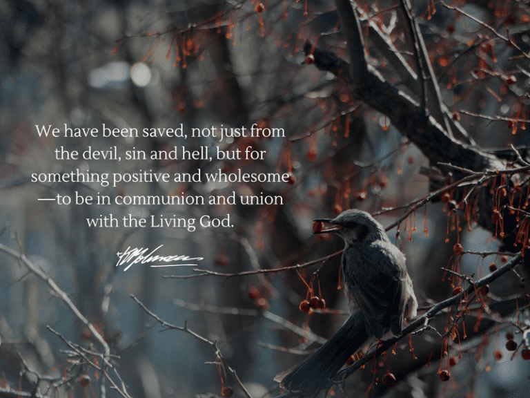 we have been saved - KP Yohannan - Gospel for Asia