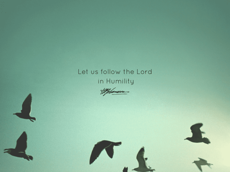 Humility - KP Yohannan - Gospel for Asia