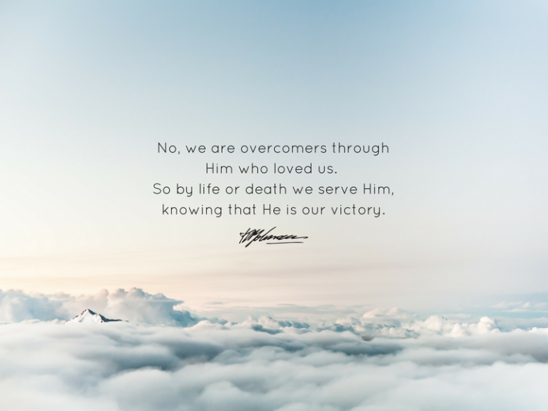 We serve Him - KP Yohannan - Gospel for Asia