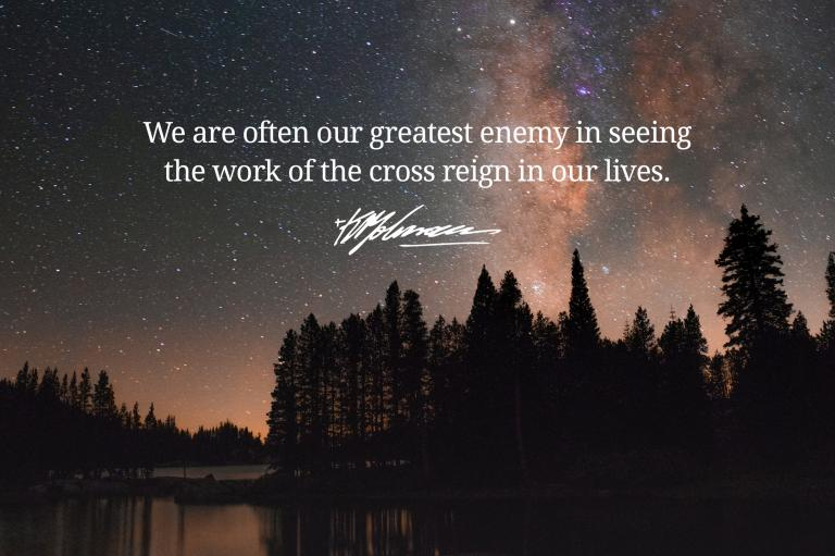 the cross reign in our lives - KP Yohannan - Gospel for Asia