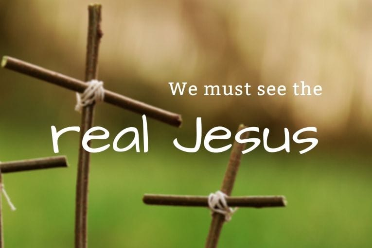 Could it be that many of us have not yet turned aside at the burning bush to gaze at the real Jesus? We must begin our spiritual journey there...
