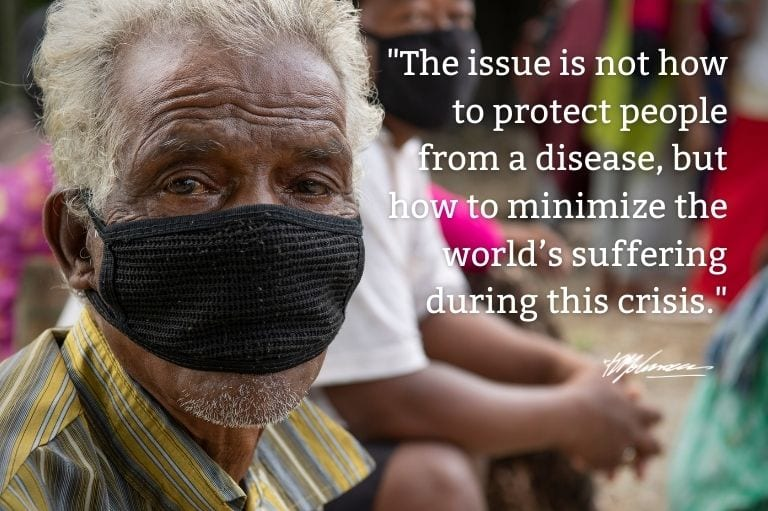 KP Yohannan, founder of Gospel for Asia (GFA World), shares on the devastating impact of COVID 19, where countermeasures risk starvation and death for many famlies in Asia.