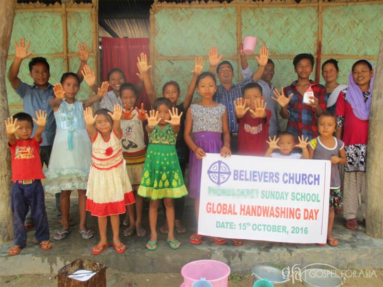 Global Handwashing Day program - KP Yohannan - Gospel for Asia
