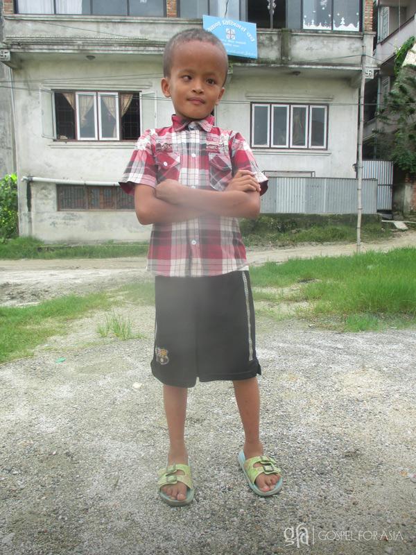 Abhaya had development issues since birth - KP Yohannan - Gospel for Asia