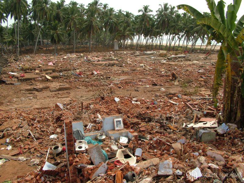 Indian Ocean Tsunami turned villages into rubble - KP Yohannan - Gospel for Asia