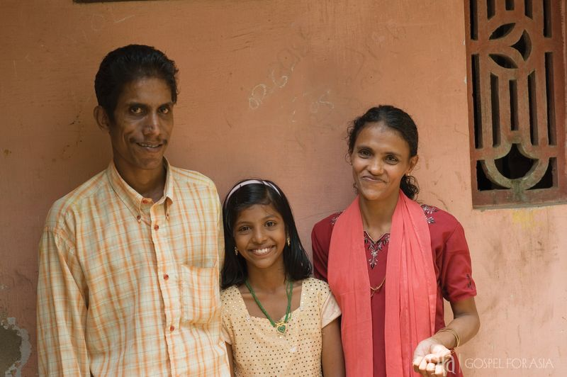 families found healing and restoration - KP Yohannan - Gospel for Asia