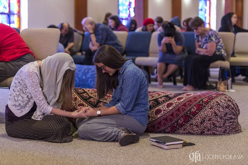 prayer meetings in a chapel - KP Yohannan - Gospel for Asia