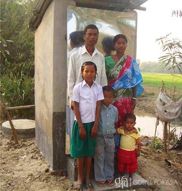 access to proper toilet facility - KP Yohannan - Gospel for Asia