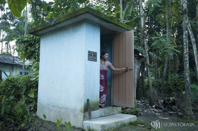 sanitary conditions - KP Yohannan - Gospel for Asia