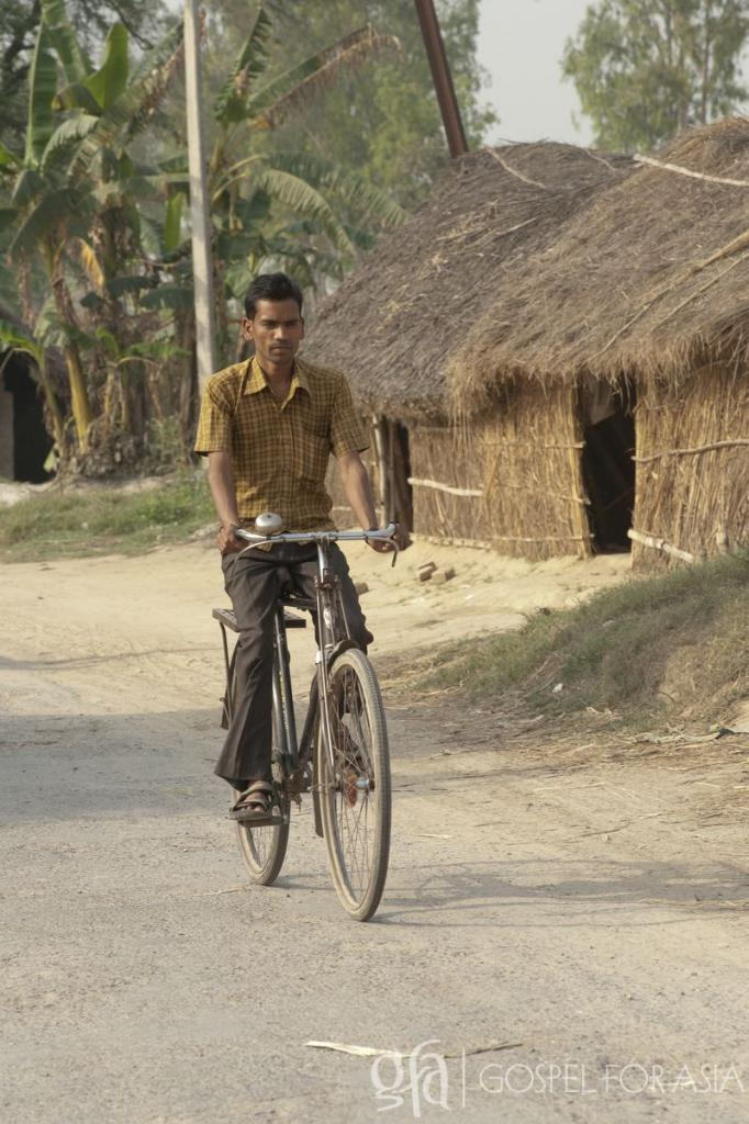 bicycles to go travel from village to village - KP Yohannan - Gospel for Asia