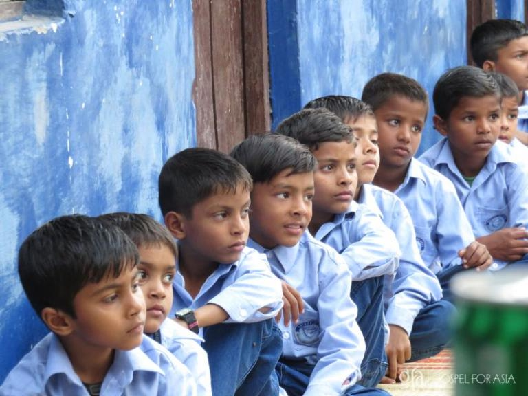 Boys in a Bridge of Hope center in Asia - KP Yohannan - Gospel for Asia