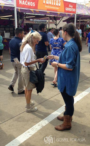 Texas State Fair - KP Yohannan - Gospel for Asia