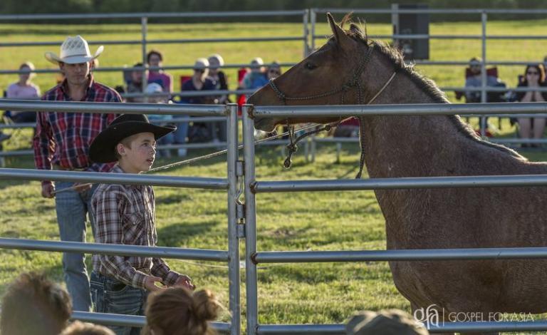 an unbroken horse - KP Yohannan - Gospel for Asia