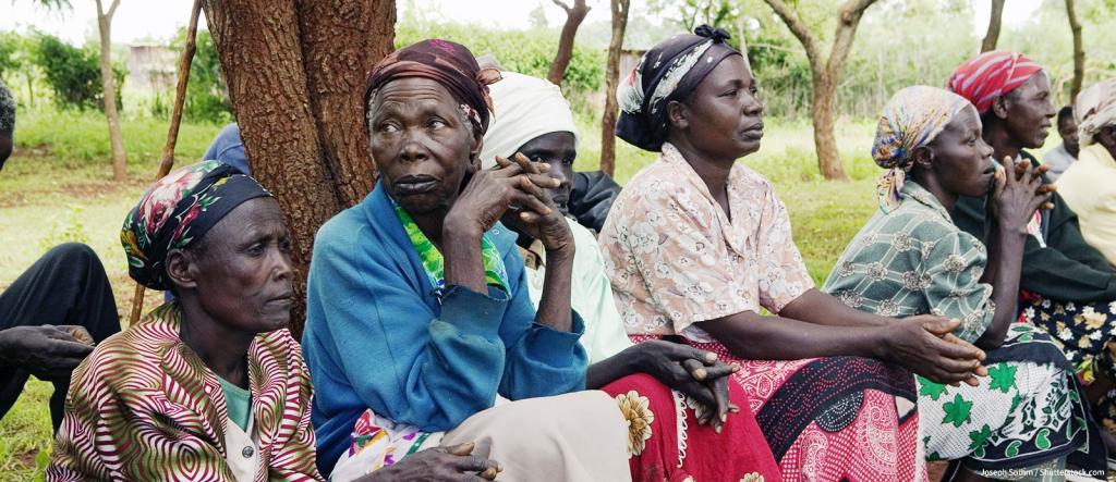Widows in Meru, Kenya, Africa who have lost their husbands - KP Yohannan - Gospel for Asia