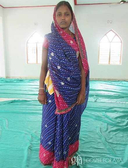 Shara, her husband Jitan and their daughter were all infected with malaria. - KP Yohannan - Gospel for Asia