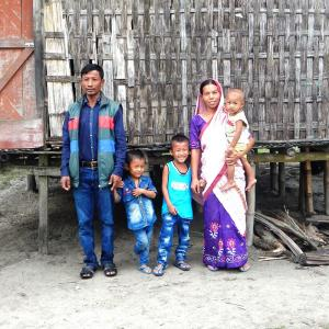 Salil and his family in north east Asia - KP Yohannan - Gospel for Asia