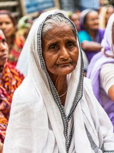 "a widow has lost all ""color"" from her life once her husband has died - KP Yohannan - Gospel for Asia"