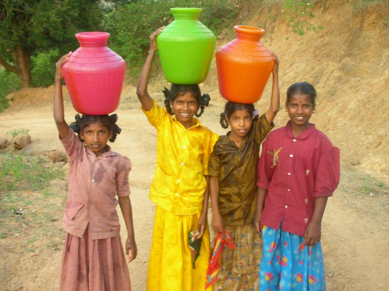 Young Girls in Asia are Expected to Fetch Clean Drinking Water for Their Families - KP Yohannan - Gospel for Asia