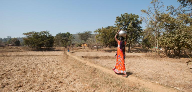 Like this woman, Gulika walked long distances to gather water for her in-laws - KP Yohannan - Gospel for Asia