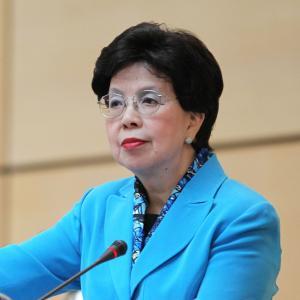 Dr. Margaret Chan, former Director-General of the World Health Organization - KP Yohannan - Gospel for Asia