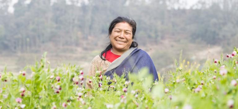 Santu Kamari Maharjan of Nepal struggled greatly because she was a widow - KP Yohannan - Gospel for Asia