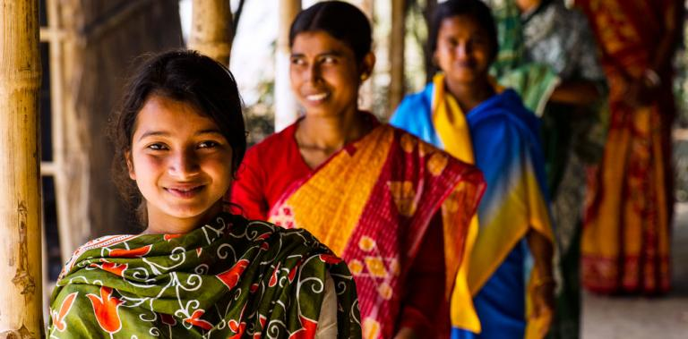 """When you invest in girls and women, they rise and they lift their families - KP Yohannan - Gospel for Asia"