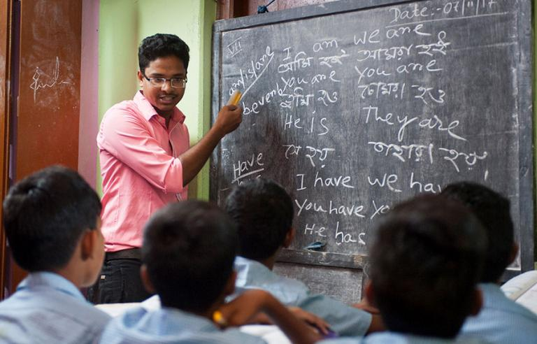 Teachers at GFA-supported Bridge of Hope centers teach with love and care - KP Yohannan - Gospel for Asia