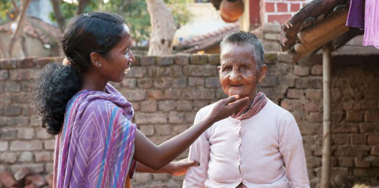 Sakshi shared about her love for the leprosy patients she serves - KP Yohannan - Gospel for Asia