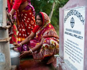 Jesus Well provides safe, pure water to many families - KP Yohannan - Gospel for Asia