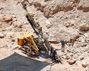 Drilling for water in Qumeran Valley, Israel - KP Yohannan - Gospel for Asia