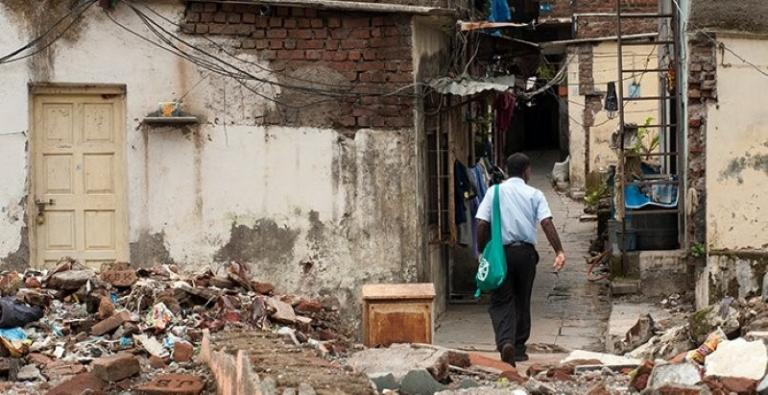 Having no connections, the harassed family moved to a large slum within an overcrowded city. All over the world, millions of disenfranchised people have ended up in similar slum dwellings. In 2017, about 900 million people lived in slums across the globe.