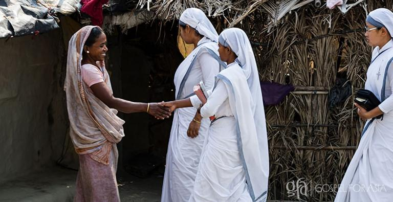 You can help meet the needs of the widows in Asia through prayer and financial support today!