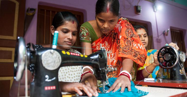 The gift of a sewing machine and the knowledge of how to use one has uplifted the lives of tens of thousands of women in Asia. Your gift today can enable even more women to fulfill their potential and help bring their families out of poverty!