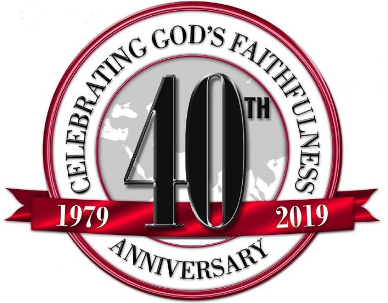 When anyone starts an enterprise of any kind, it is unlikely that they can see 40 years into the future and all that those four decades will bring. When the Lord uses a man or woman to begin a ministry, the future is beyond imagination.