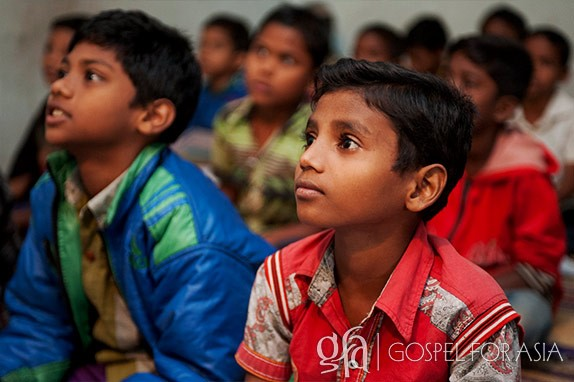 Gospel for Asia (GFA) – Discussing the reality of millions of children in Asia, a life strangled by their circumstances of poverty, denied also of a better future, the opportunity for education.