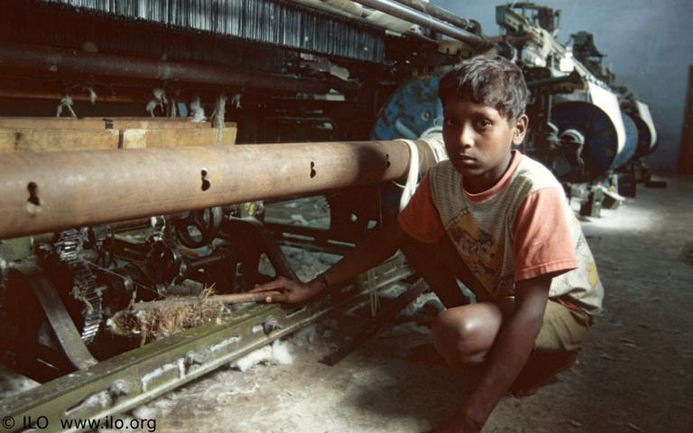 In Pakistan, economic results are considered more important than the morality of employing child laborers. The laws have been written that no child below the age of 14 should endure work in a hazardous environment. Sadly, these laws aren't enforced, and many children suffer because of it. © ILO