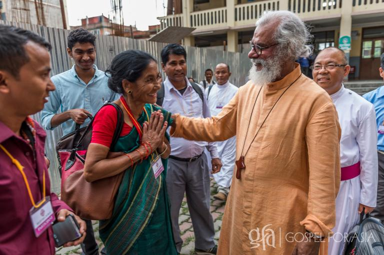 """""""How can a man pastor the same church for 40 years?"""" ...""""Never, never quit."""" As Gospel for Asia (GFA) looks back on 40 years of ministry, Dr. K.P. and Gisela Yohannan could respond in much the same way..."""