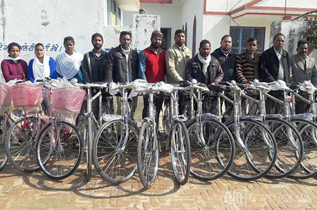Gospel for Asia (GFA, www.gfa.org) founded by Dr. K.P. Yohannan – Discussing the ministry of national missionaries, the physical challenges they endure, and the impact a simple gift of a new bicycle can make in the transformation of villages, touched with the love of God.