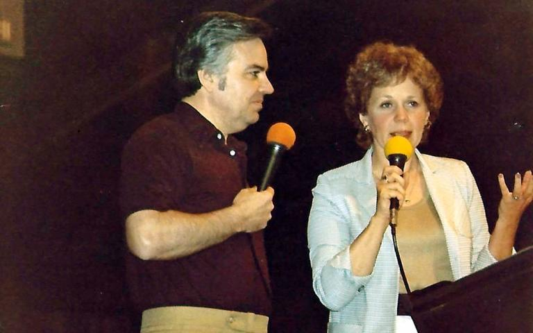 David Mains, Karen Mains, 1983, at Mount Hermon Conference Center in CA