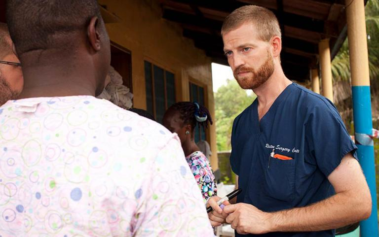 """Gospel for Asia founded by Dr. K.P. Yohannan shares about Dr. Kent Brantly contracted Ebola while minstering in Liberia. He recovered and was featured on Time Magazine's cover, representing Ebola fighters—Time's """"People of the Year."""""""