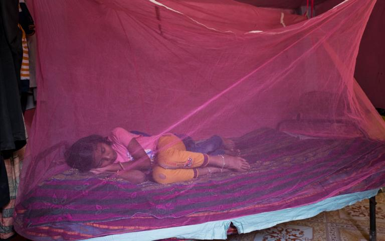 Gospel for Asia: A mosquito net can be the difference between life and death for kids in Asia.