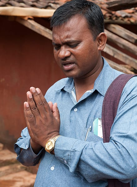 After years of letting alcohol rule his life, Roshan (pictured) realized his responsibility to his family, and God empowered his weak body to labor hard to provide for them. Later, Roshan's heart became burdened for those in his community who didn't know Christ, and he dedicated his life to ministering to them.