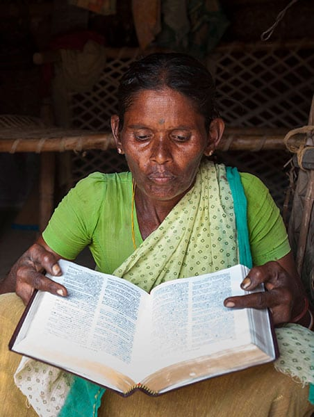 This woman, like Jeni, also never learned to read. She hungered for God's Word but could only stare at the pages of her Bible, unable to read them.