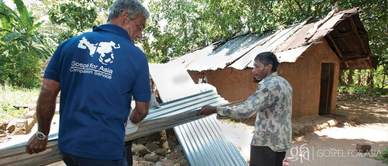 Discussing the GFA-supported Compassion Services teams comprised of national workers and missionaries, and their commitment to bring disaster relief to where it's most needed.