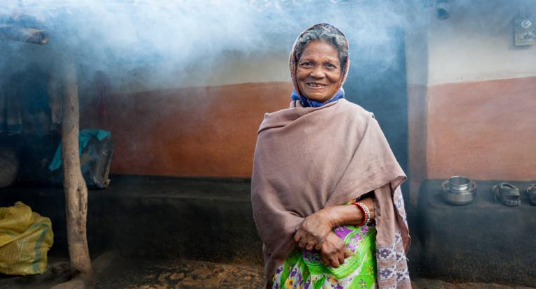 Gospel for Asia (GFA World) founded by Dr. K.P. Yohannan: Sabita is a cured leprosy patient.
