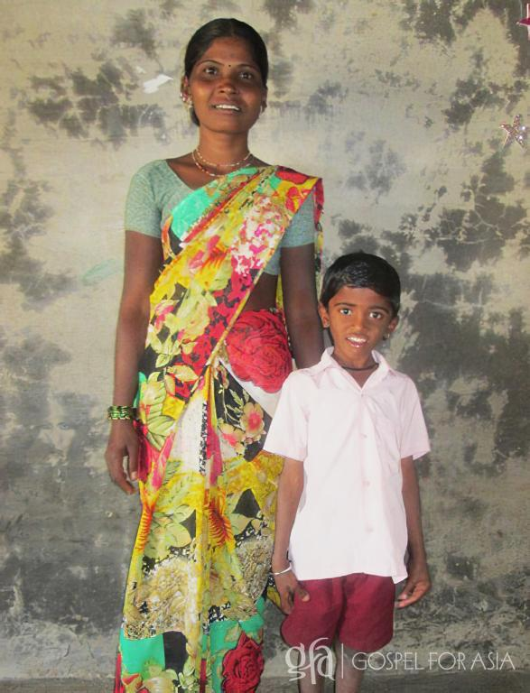 Gospel for Asia founded by Dr. K.P. Yohannan: As Aakar grows, Tanu (pictured) has hope that he will grow up to be a good man who loves others.