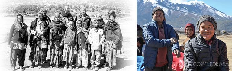 Gospel for Asia founded by Dr. K.P. Yohannan: Joy provided by winter clothing