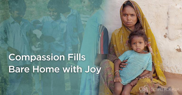 Gospel for Asia (GFA World) founded by Dr. K.P. Yohannan: Discussing Kalapi, the sickness and poverty, and the healing and provision through the ministry of national missionaries and the distribution of a Gospel for Asia gift of compassion.